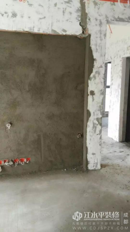 成都保利城三期赵先生家泥工张师傅装修施工