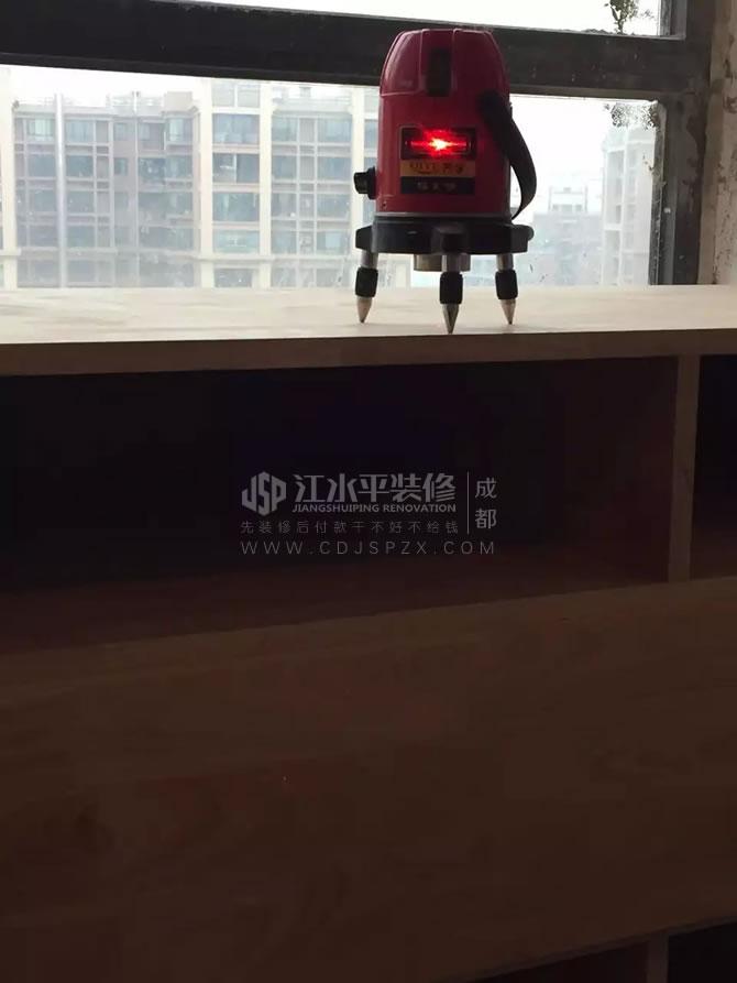 成都光华锦苑何先生家装修吊顶施工