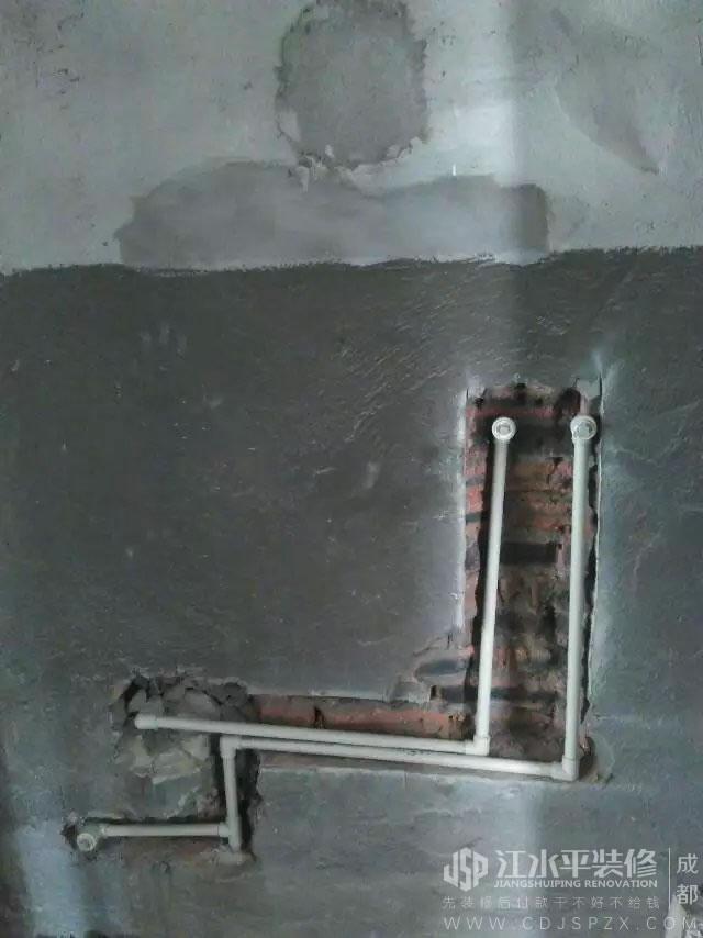 成都龙湖金楠天街小曾家装修水电改造