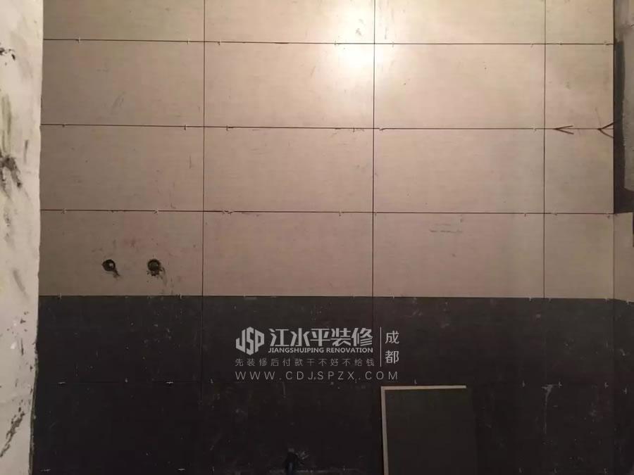 成都南城都汇杨姐家装修在做暗藏滑门