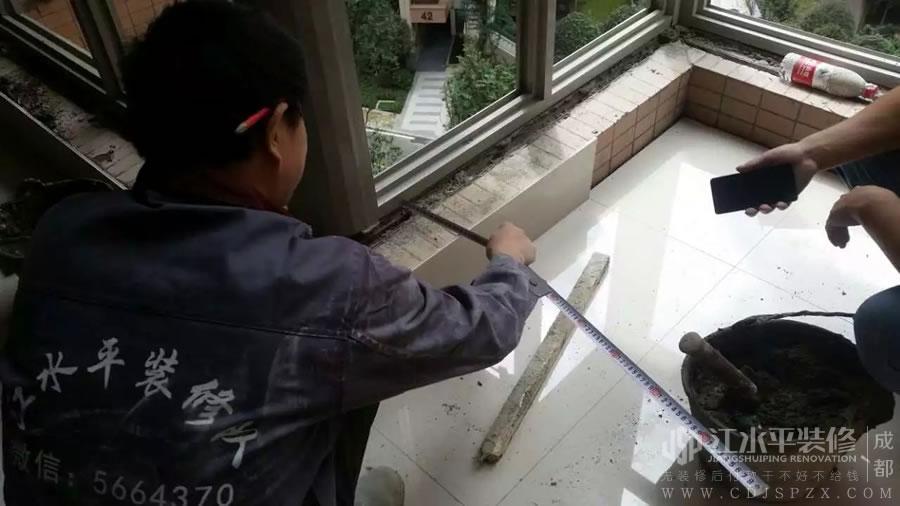 成都南城都汇小耿家地砖保护胶垫