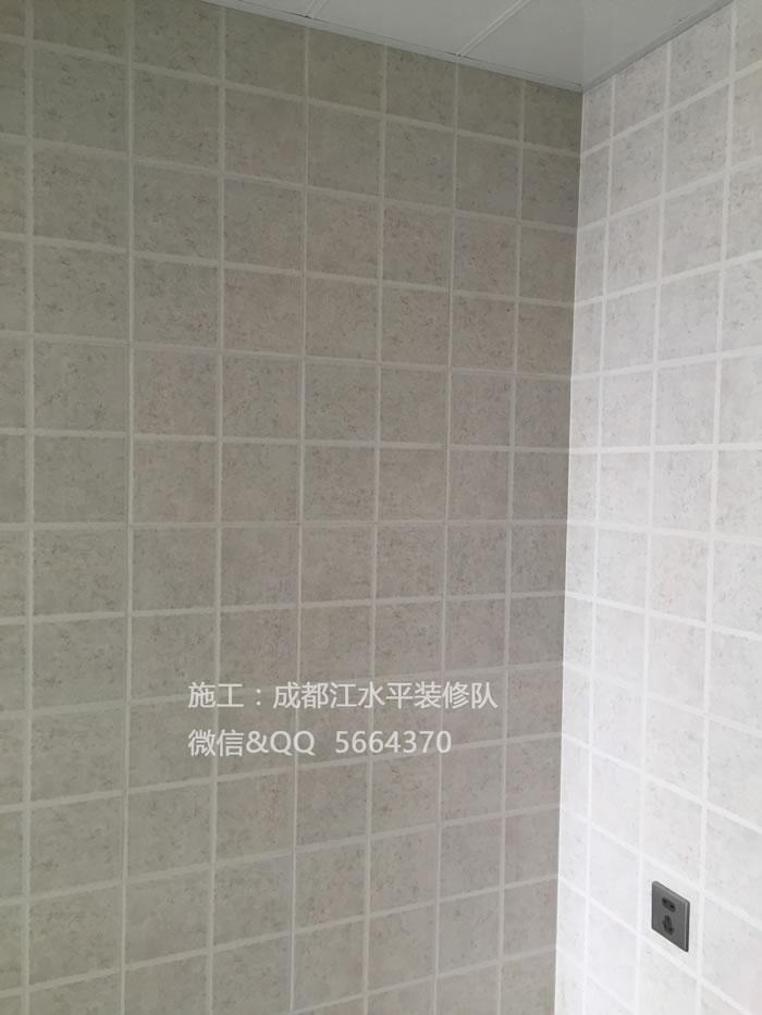 成都装修队江水平毕业作品简单. 爱 蓝光锦绣城