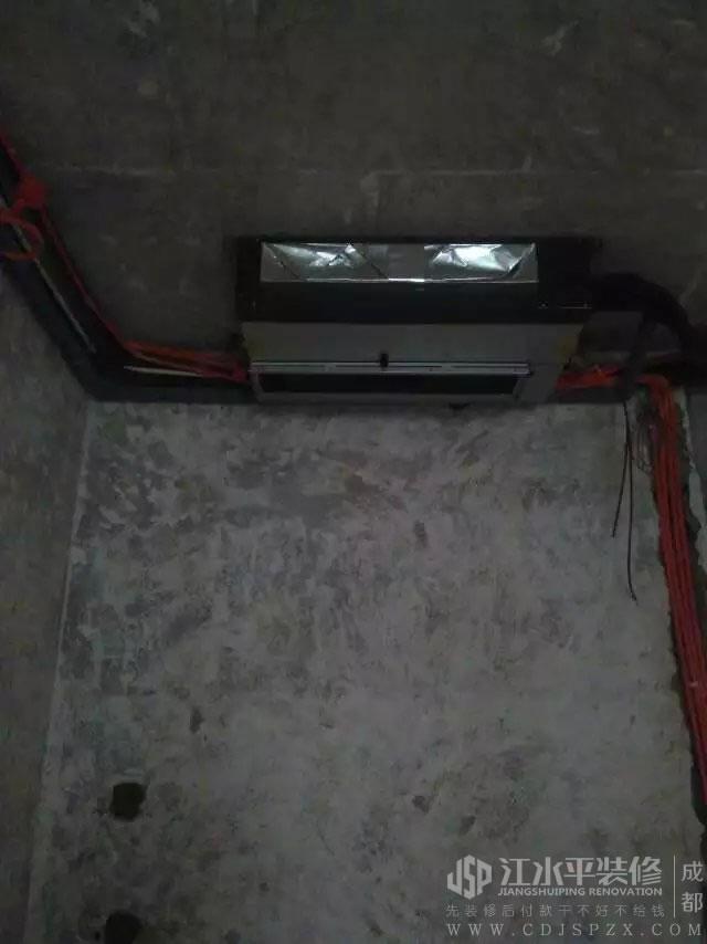 成都维多利亚富御小王家水电改造施工
