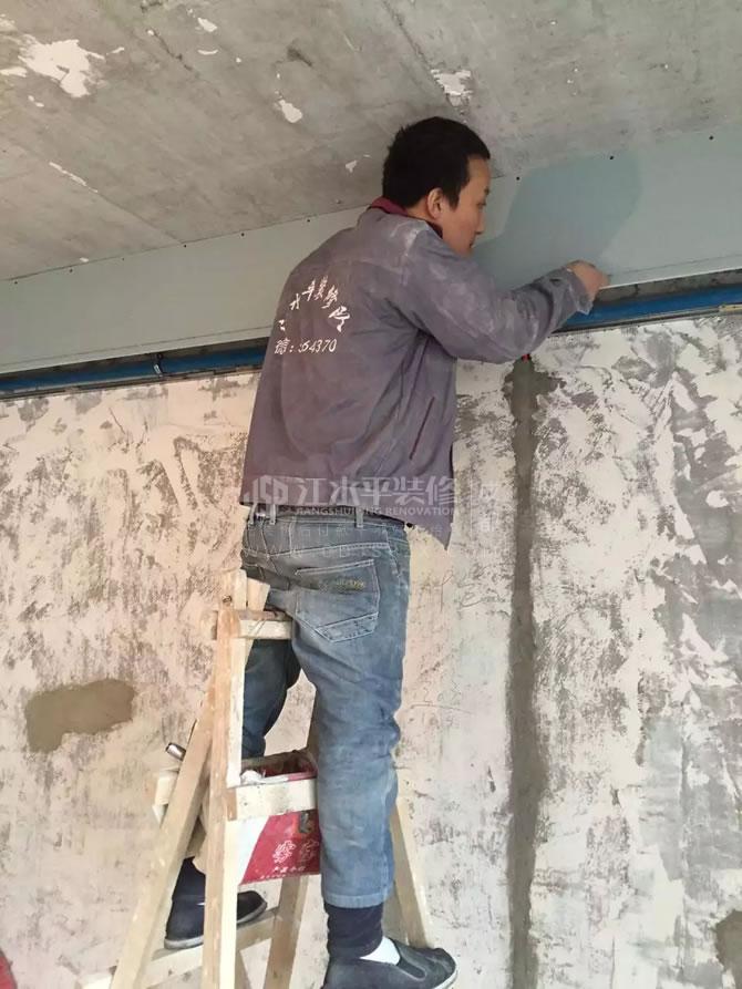 成都光华锦苑何先生装修家厨卫铺贴砖完工