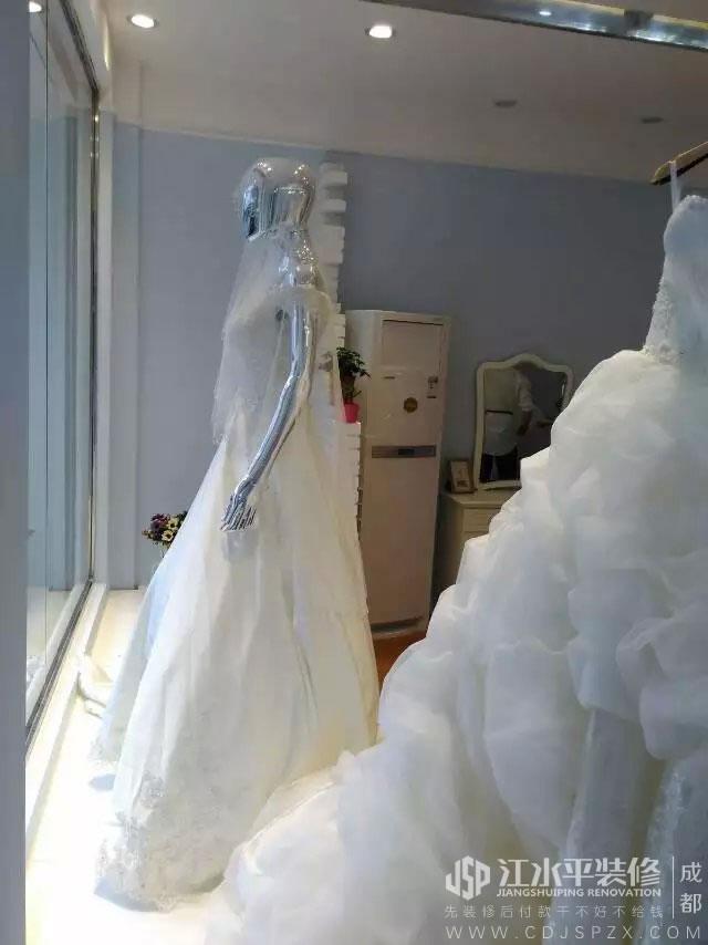 成都双流赫柏婚礼店装修完工开业