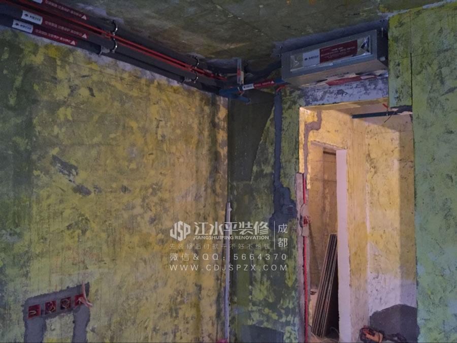 成都南城都汇杨姐家装修木工张师傅吊顶施工