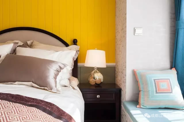 91㎡色彩公寓,沉稳大气贵族范儿!