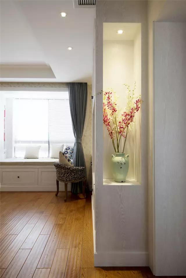 138平米简约美式,超级迷人大窗台