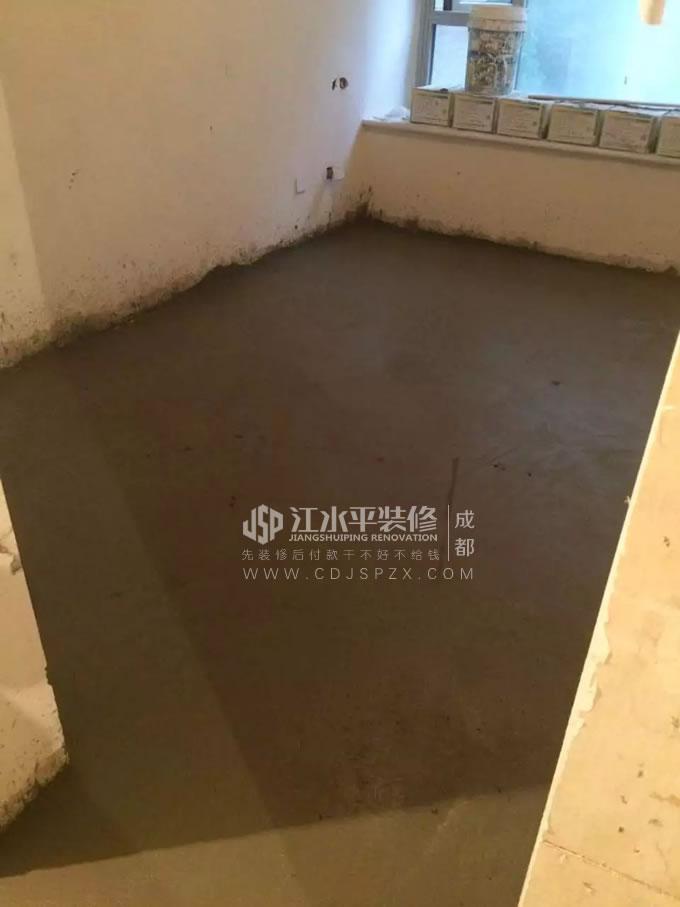 成都南城都汇刘哥家墙地砖铺贴完工 各扫门前雪