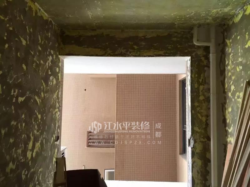 成都江宇天府城木工师傅进场装修施工
