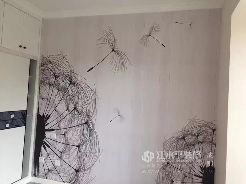 成都长虹和悦府油漆邹师傅也为自己的手艺点赞