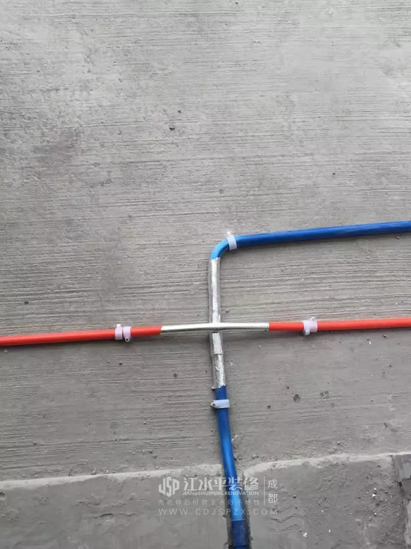 蓝光香镜水电施工中