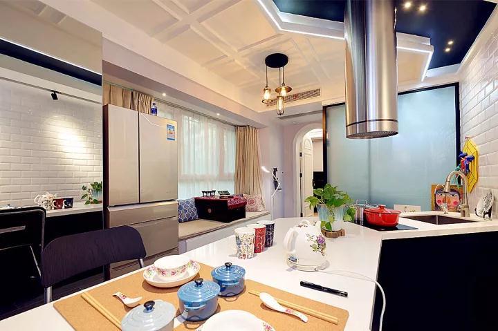 成都江水平装修队装修厨房最满意的案例