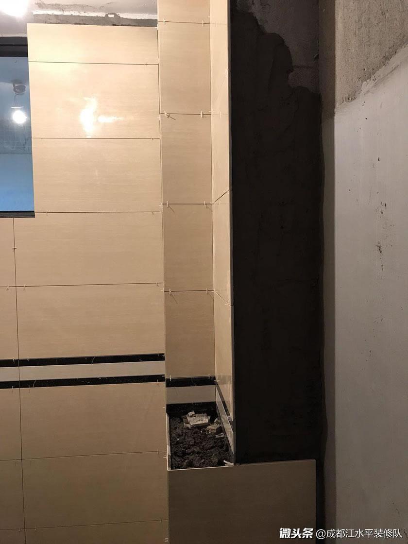 成都育才竹岛厨卫墙砖贴砖中