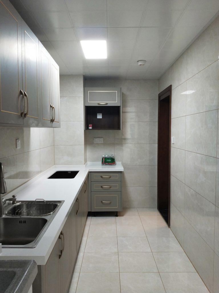 成都紫御熙庭简约混搭71平方装修日记案例厨房