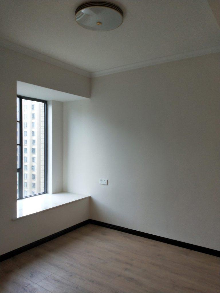 成都紫御熙庭简约混搭71平方装修日记案例主卧室飘窗
