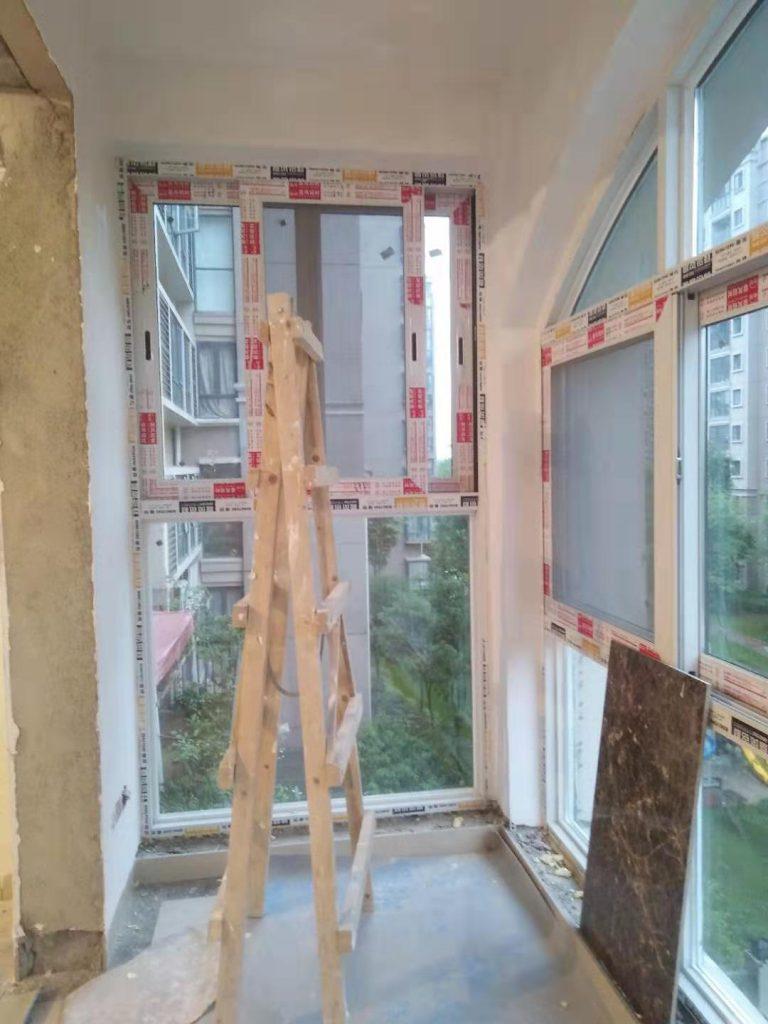 成都蜀镇观澜湖装修日记案例阳台乳胶漆基层完工